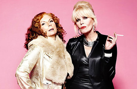 Edina and Patsy from Absolutely Fabulous