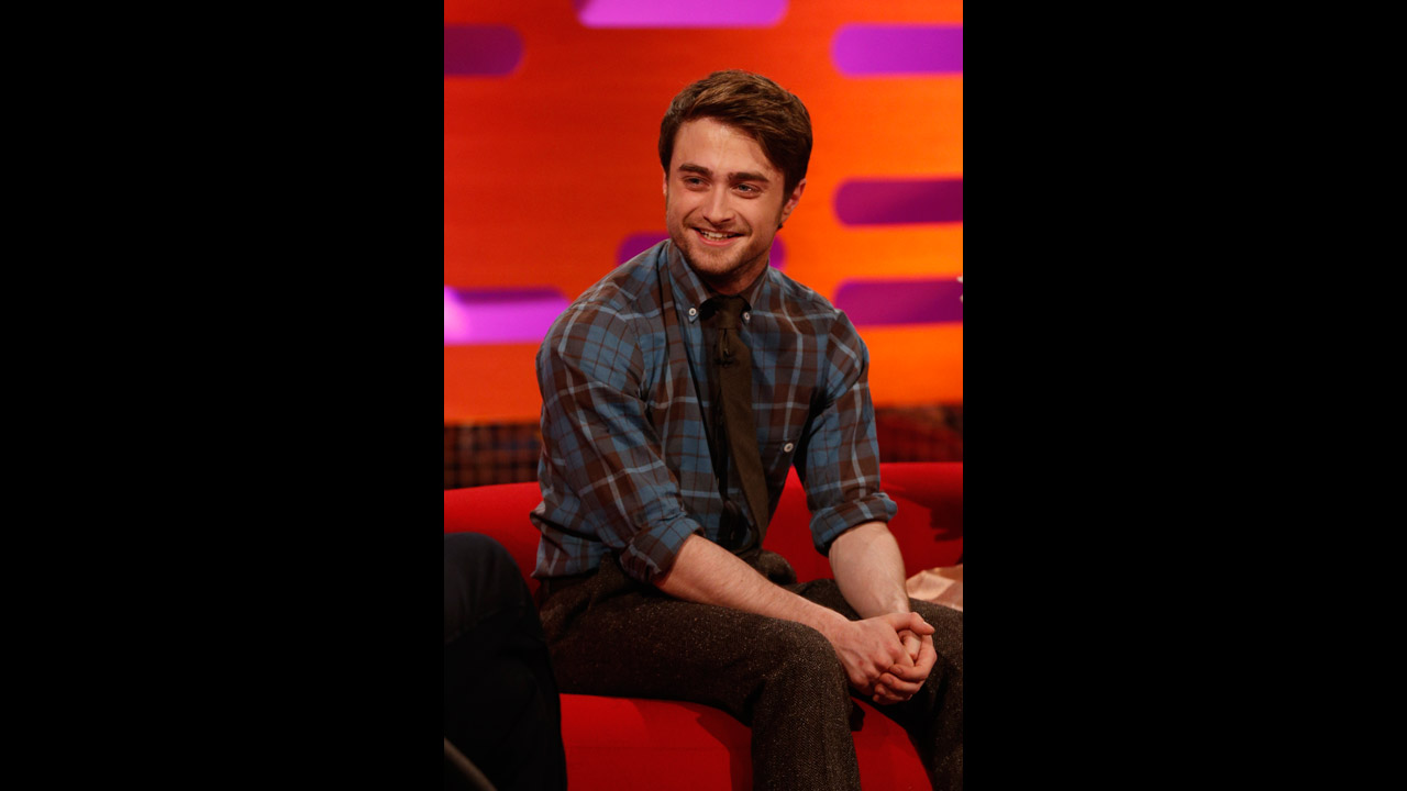 Harry Potter himself, Daniel Radcliffe, has a laugh at 'The Graham Norton Show'.