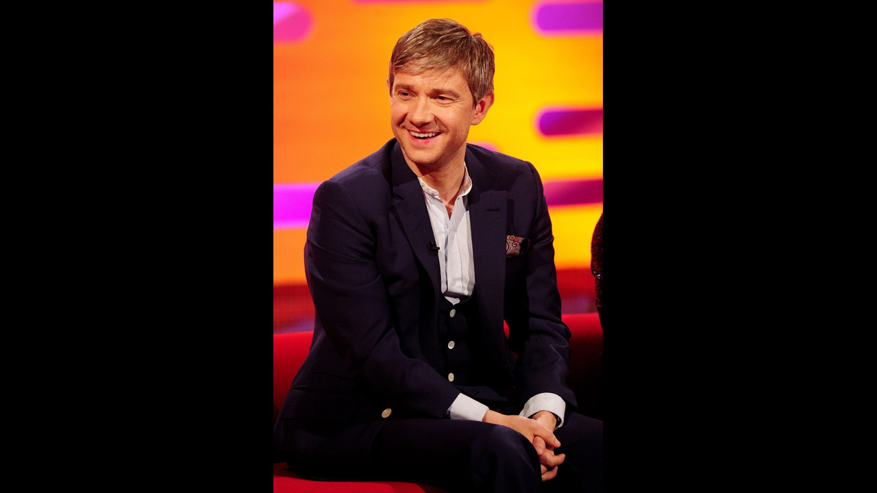 'Sherlock' and 'The Hobbit' star Martin Freeman joins Graham this week!