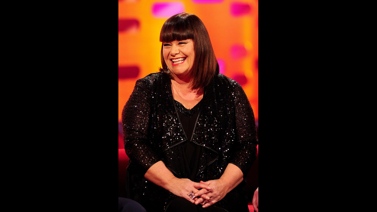 The hilarious Dawn French dazzles the set.