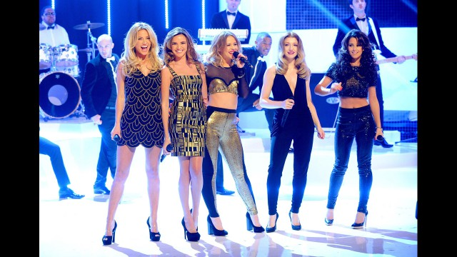 The Ladies of Girls Aloud shine as they celebrate their 10th anniversary at 'The Graham Norton Show.'