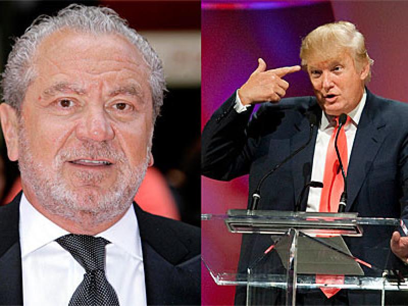 Lord Sugar and Donald Trump