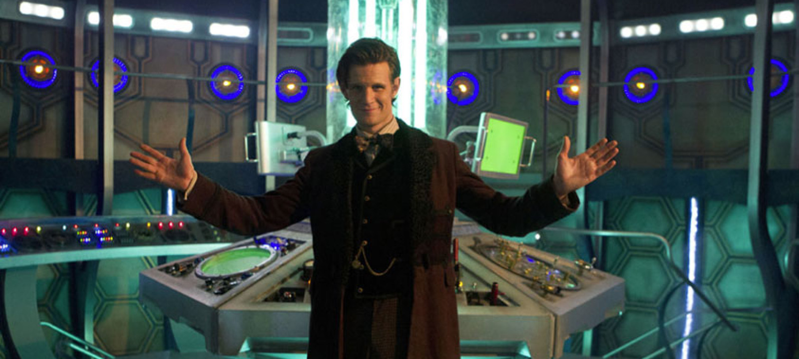 The new-look TARDIS interior