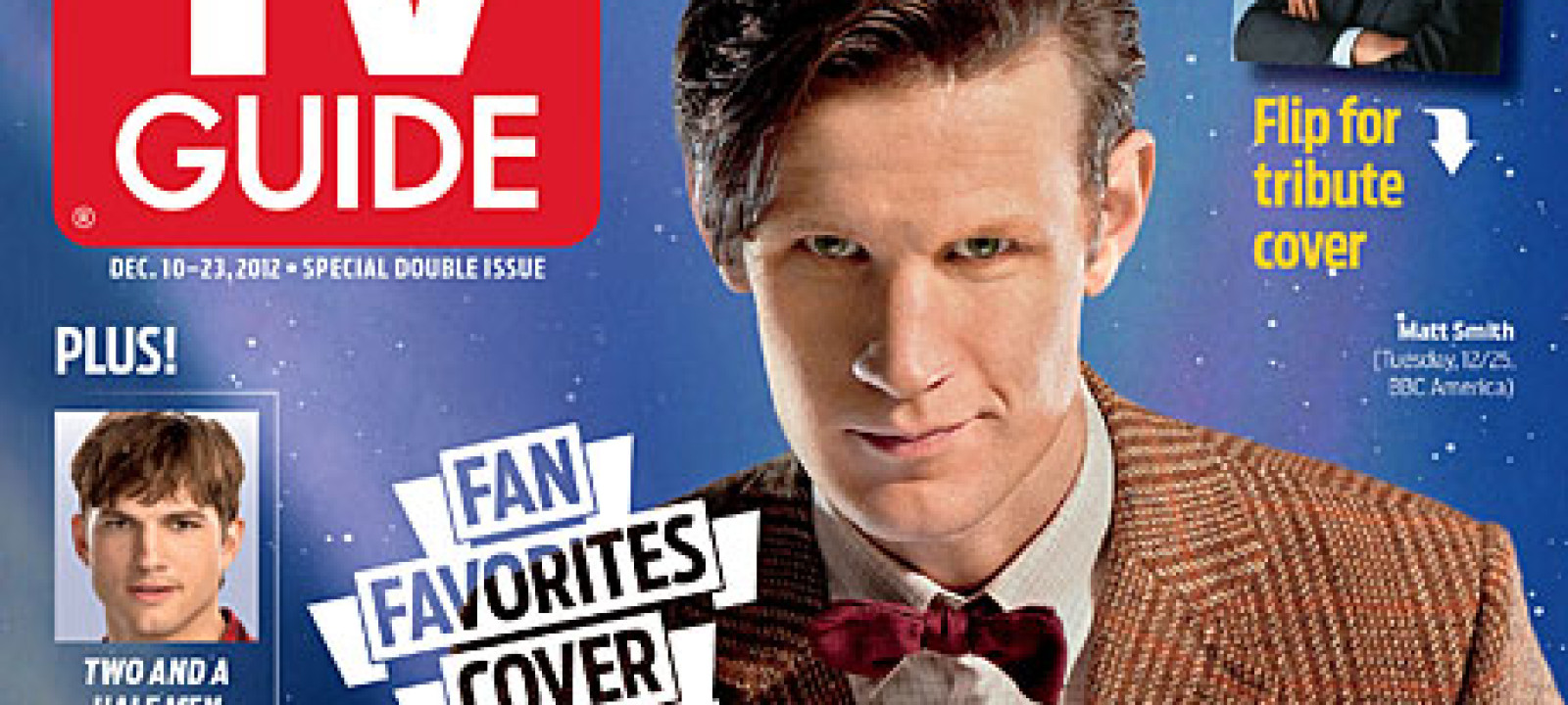 Doctor Who on the cover of TV Guide