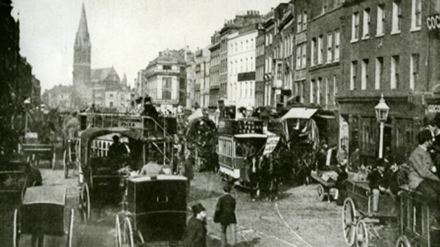 Whitechapel, circa 1888.