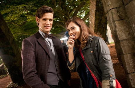 Matt Smith and Jenna-Louise Coleman on 'Doctor Who' (Photo: BBC AMERICA)