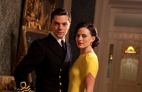 Dominic Cooper and Lara Pulver in Sky Atlantic and BBC AMERICA's 'Fleming: The Man Who Would Be Bond' (Photo: Sky Atlantic/BBC AMERICA)