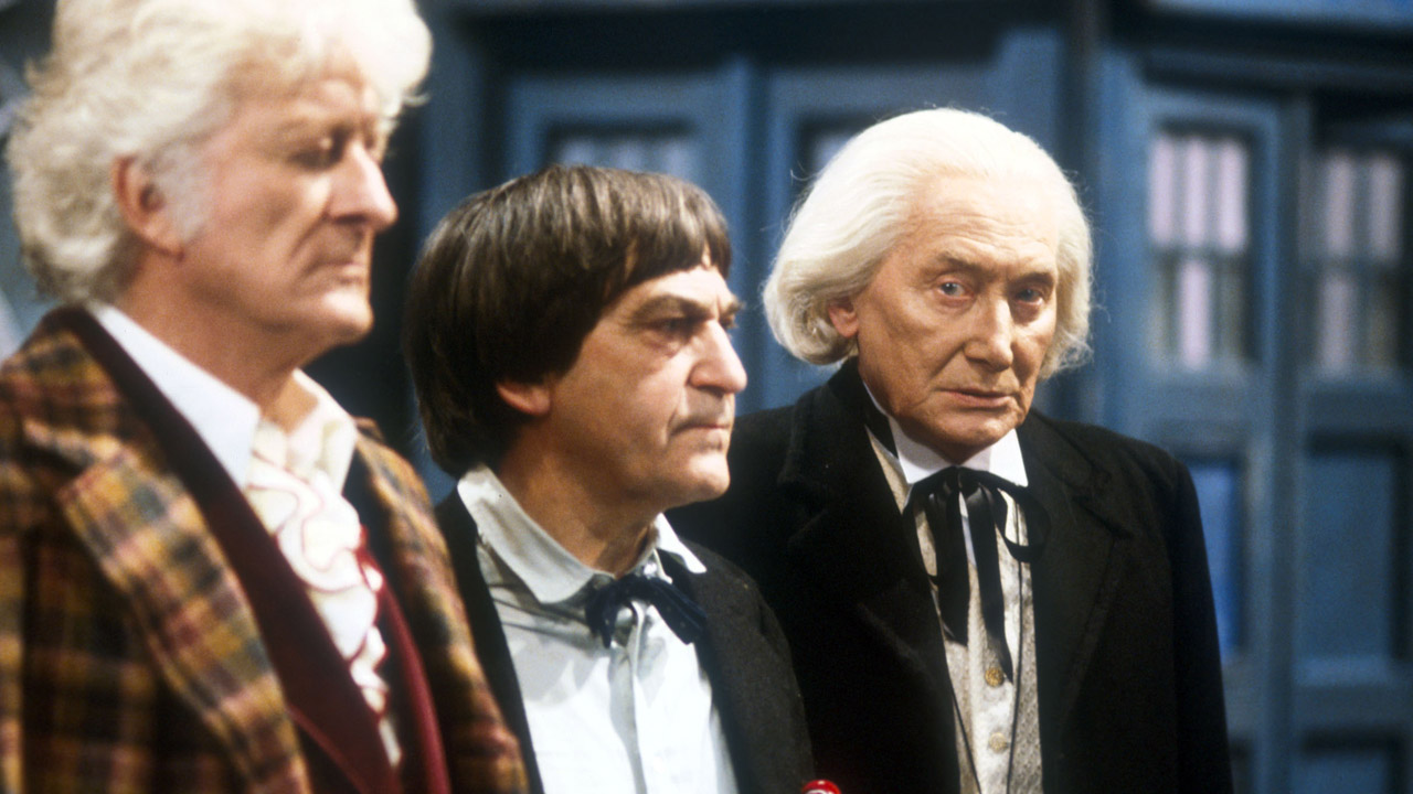 """I am the Doctor!  The original you might say!"" - The Doctor ('The Five Doctors')"