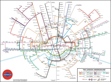 The London Tube Map Gets A Makeover Anglophenia BBC America