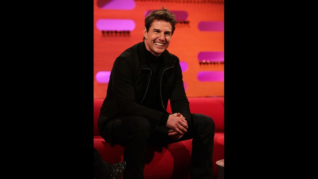 Tom Cruise stops by 'The Graham Norton Show'  to celebrate the New Year.