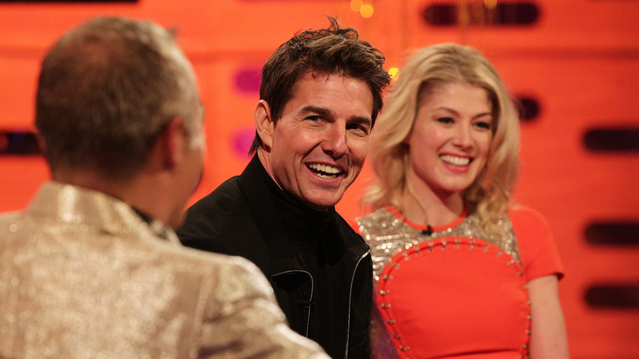 Tom Cruise Charms Graham and Rosamund.