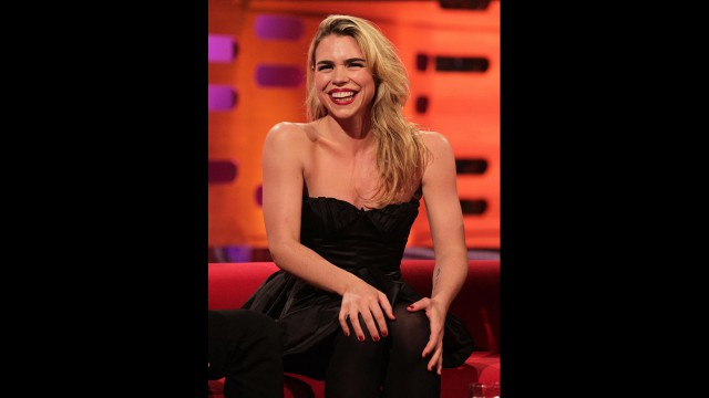 Former 'Doctor Who' companion Billie Piper visits Graham this week.