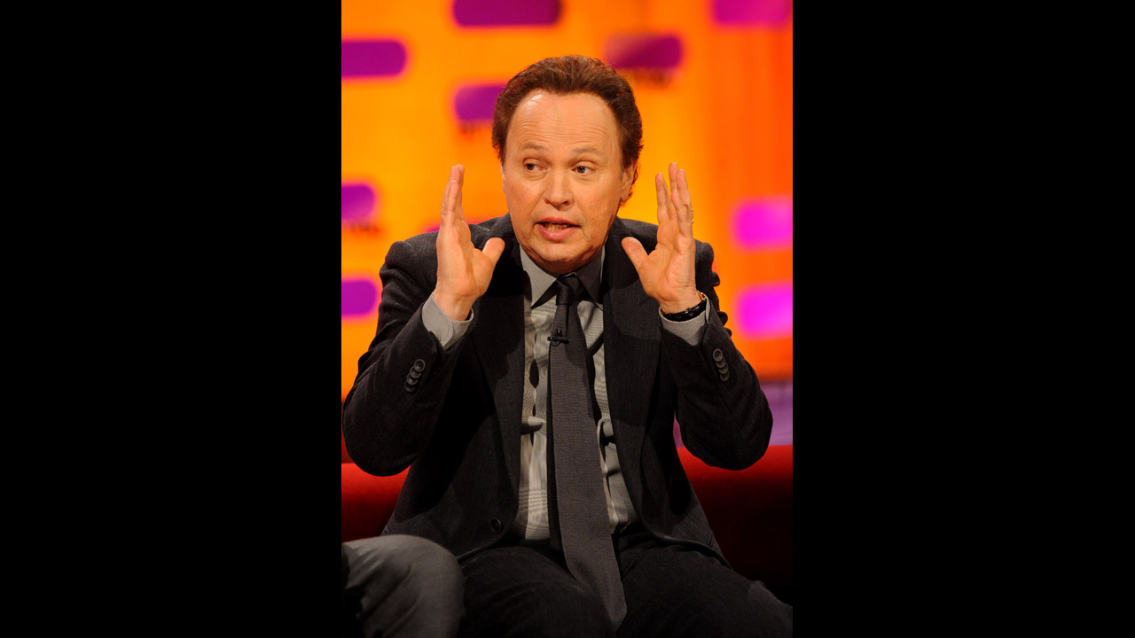 Veteran funnyman Billy Crystal.