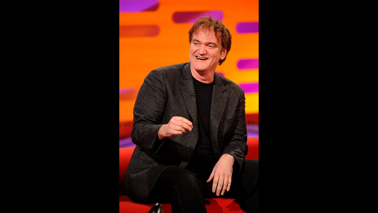 Legendary filmmaker Quentin Tarantino chats with Graham.