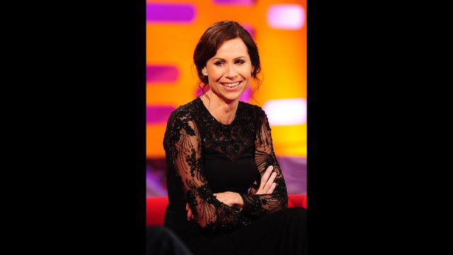 The talented Minnie Driver.