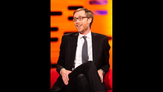 Comedian Stephen Merchant puts his clever wit on display.