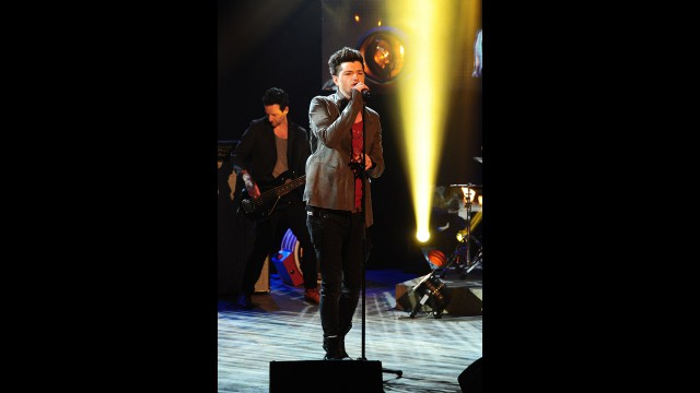 The Script lights up the crowd at 'The Graham Norton Show.'