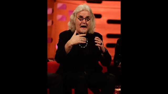 Comedian and actor Billy Connolly.