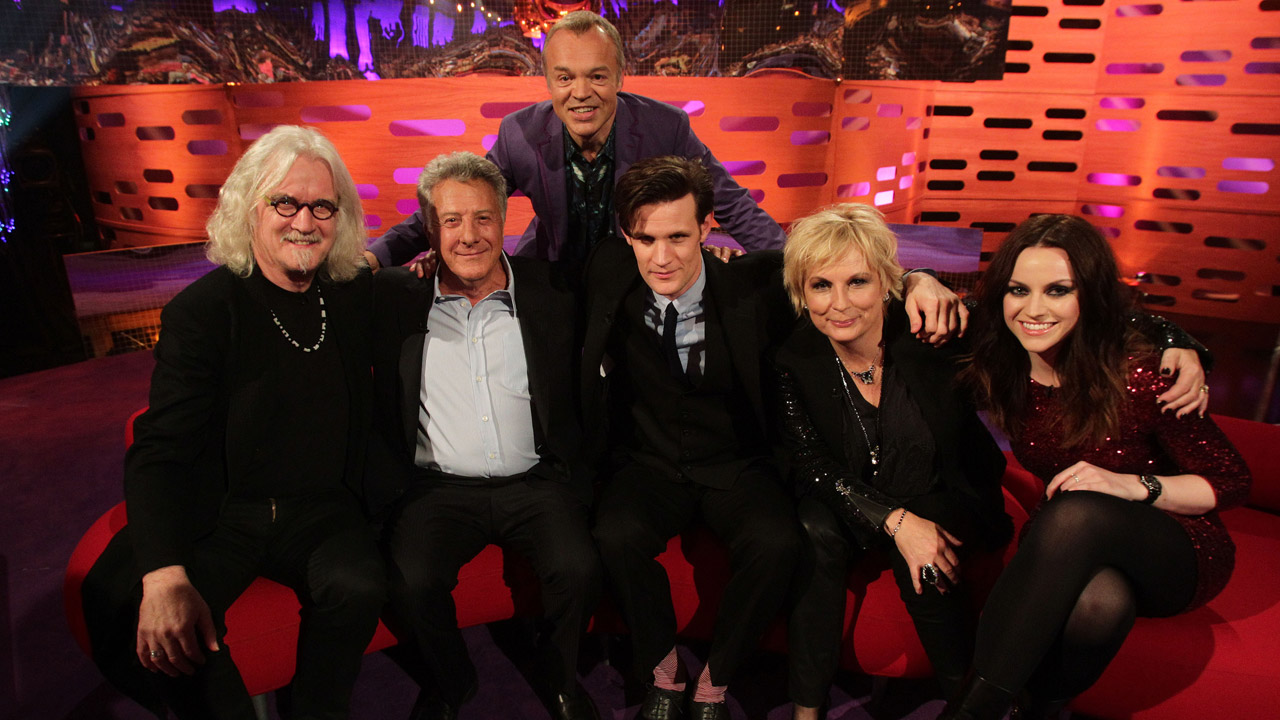 Billy Connolly, Dustin Hoffman, Matt Smith, Jennifer Saunders and Amy MacDonald join Graham for the Christmas episode.
