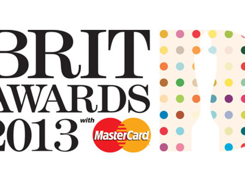 Brit awards logo, designed by Damien Hurst