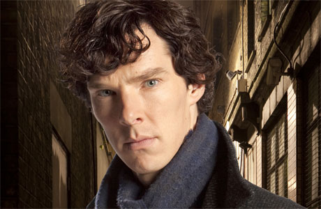 Benedict Cumberbatch as Sherlock Holmes in 'Sherlock'