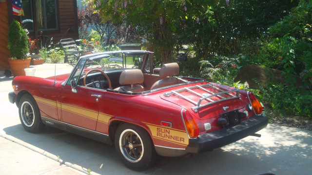 This cute and dependable 1979 MG Midget SunRunner was sent in by Travis O.