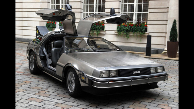 "Powered by weapons grade plutonium and a flux capacitor, the DeLorean sped into the hearts of 80's kids everywhere. Once it hit 88 miles an hour, the vehicle flung the characters of ""Back to The Future"" through space and time, creating paradoxes everywhere it went."