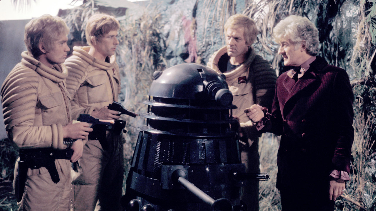 """Courage isn't a matter of not being frightened, it's being afraid and doing what you have to do anyway."" - The Doctor ('Planet of the Daleks')"