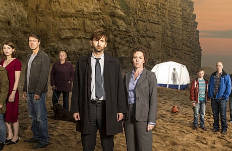 David Tennant and Olivia Coleman in 'Broadchurch'