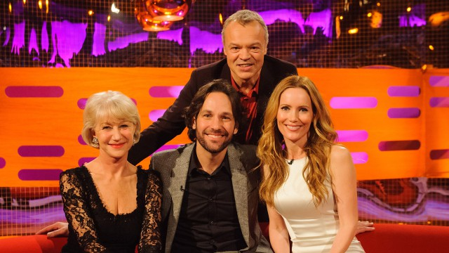 'This is 40' stars Paul Rudd and Leslie Mann along with Helen Mirren drop by the couch this week.