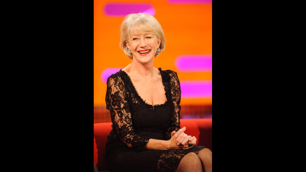 The Wonderful Dame Helen Mirren