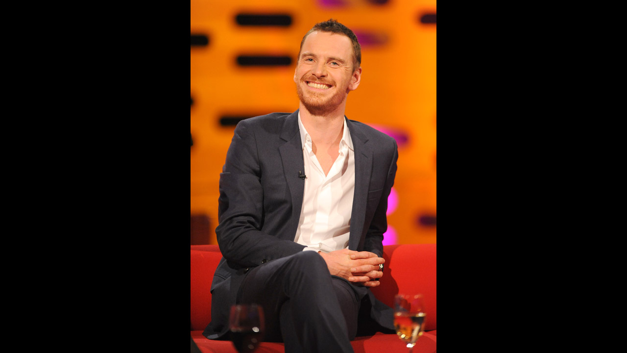 The talented Michael Fassbender.