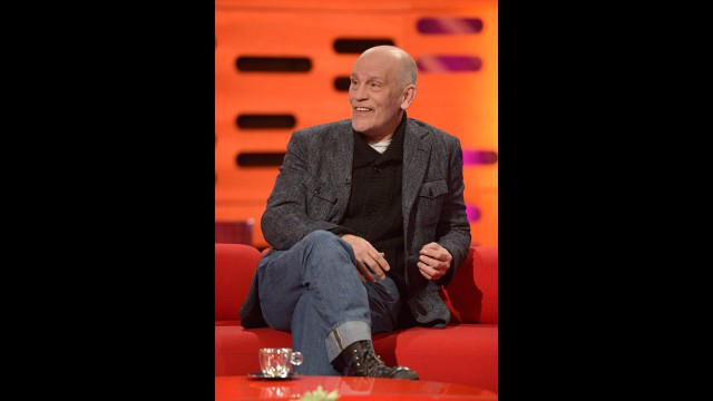 'Red' star John Malcovich returns to 'The Graham Norton Show.'