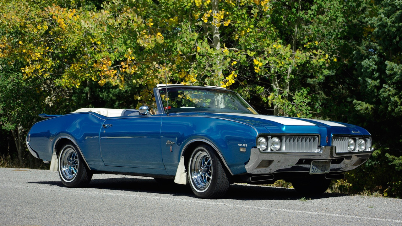 An all-original 1969 Oldsmobile Cutlass S W-31 sent in by Jason H.