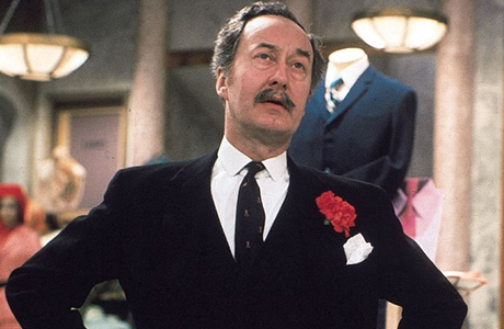 Frank Thornton from 'Are You Being Served?' (Photo: BBC)