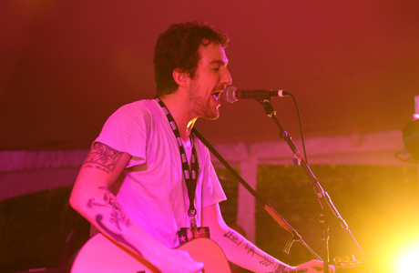 Frank Turner performs live at the BBC America Roadhouse at South By Southwest in Austin. (Photo: Kerry Gray/Getty Images)