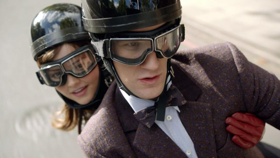 Jenna-Louise Coleman and Matt Smith in 'Doctor Who' (Photo: BBC AMERICA)