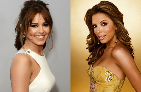 Cheryl Cole and Eva Longoria