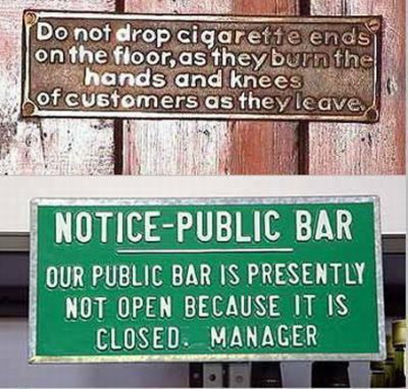 Don't Drop the Ciggies