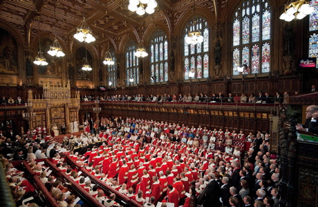 The House of Lords in a file photo from May 2010. (Leon Neal, PA Wire/AP Images)
