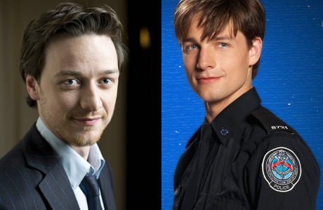 James McAvoy and Gregory Smith