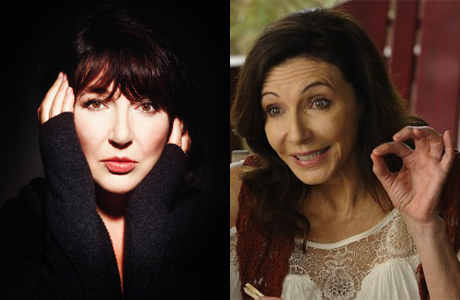 Kate Bush and Mary Steenburgen