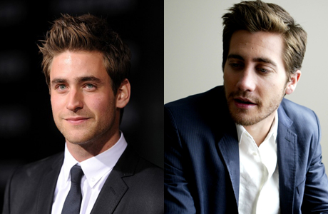 Oliver Jackson-Cohen and Jake Gyllenhaal