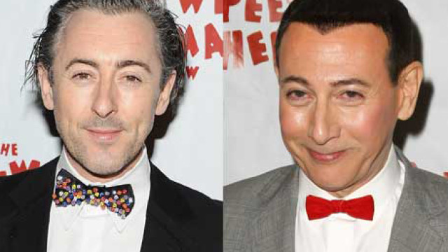 Alan Cummings and Paul Reubens
