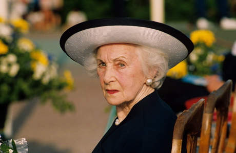 Sweden's Princess Lilian in a photo from June 1995 (Rex Features/AP Images)