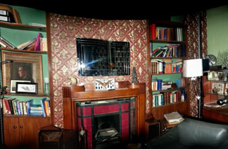 PANORAMIC VIEW Sherlock Set Design for Season Three Anglophenia