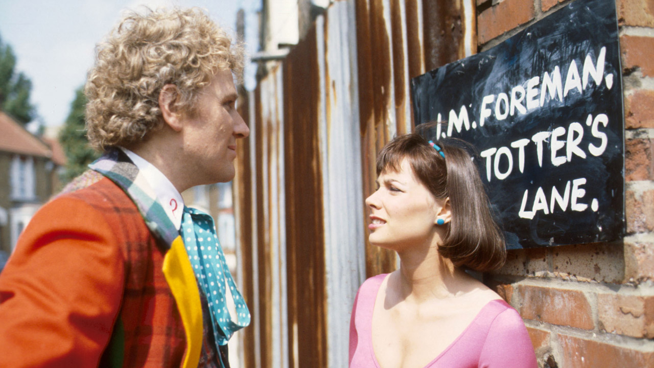 "Peri: ""I only hope it believes you."" The Doctor: ""Well if it doesn't, I shall beat it into submission...with my charm.""   ('Attack of the Cybermen')"