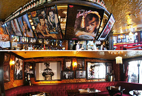 The Bowie-themed Cardinal bar, in Tokyo