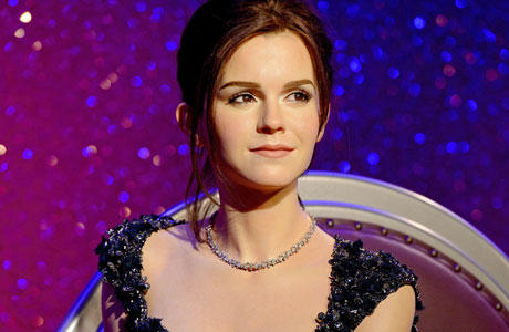 Emma Watson's new waxwork (this and all photos courtesy of AP Images)