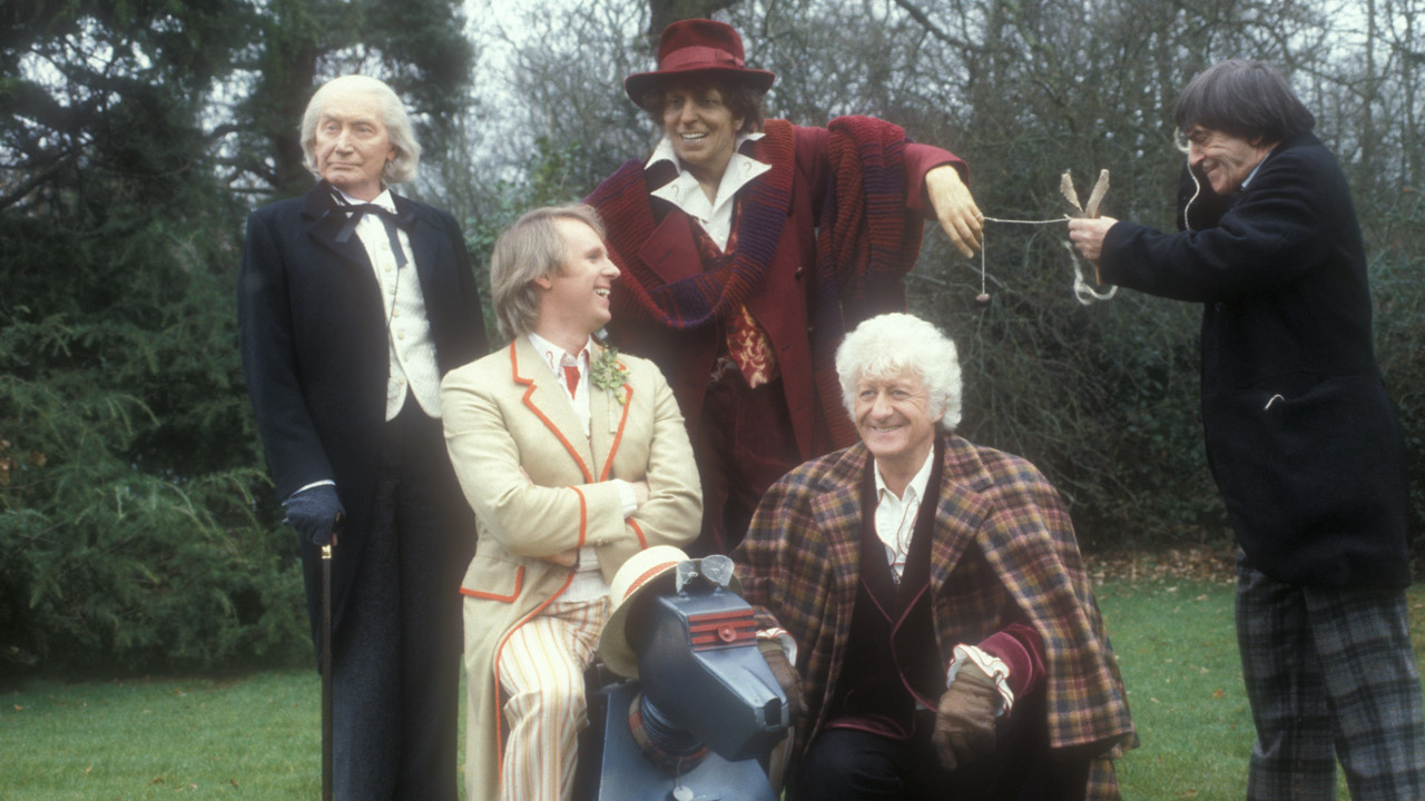 """I try to believe three impossible things before breakfast."" - The Doctor ('The Five Doctors')"